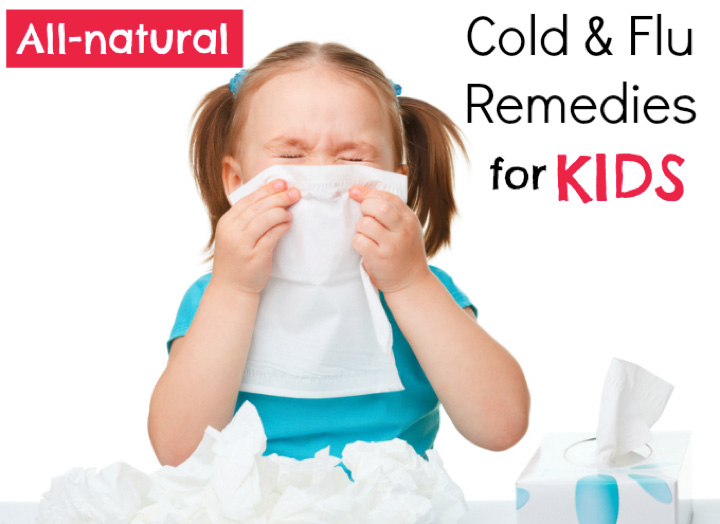top 5 natural cold and flu remedies for kids